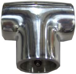 """FITS 7//8/"""" RAIL 90 DEGREE STAINLESS T FITTING M-1"""
