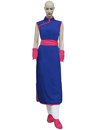 MiDiCosplay Dragon Ball Chi Chi QiPao Cosplay Costume Custom Made (Chichi Costume)