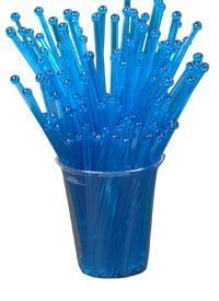 BarConic Stirrers with Ball Head - Blue (Pack of 500) by BarConic