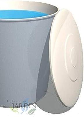 TAPADERA DEPOSITO DE AGUA circular de POLIESTER fibra de vidrio (Tapa Ø 53 cm, 100 L): Amazon.es: Bricolaje y herramientas