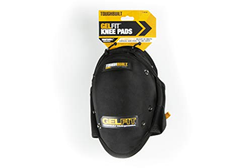 ToughBuilt GelFit Professional Knee Pads - Comfortable Gel Cushion & Heavy Duty Foam Padding, Strong Adjustable Straps, Premium Quality Built to Last (TB-KP-G2) (SnapShell compatible) NEW by ToughBuilt (Image #8)