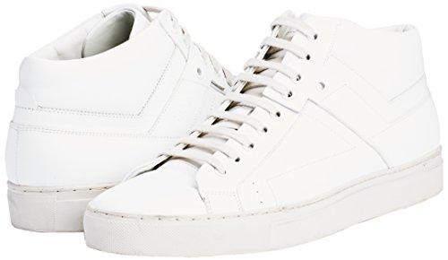 Hugo Futurism_Midc_lt 10191227 01, Zapatillas Altas para Hombre Blanco (Open White 120)