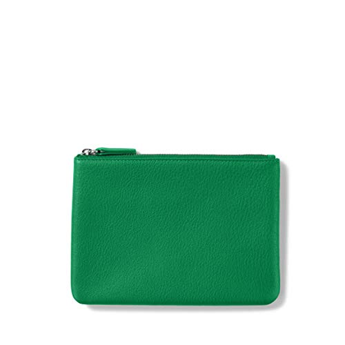 Small Pouch - Full Grain Leather - Kelly Green (green)