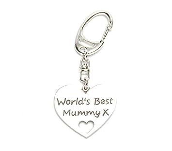Metal Planet Purple Gift Co Worlds Best Mummy keyring  Amazon.co.uk ... bf89a8b728f0