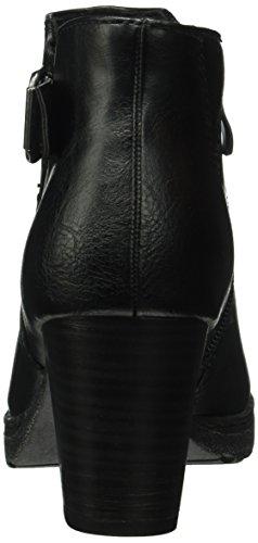 Marco Tozzi 25322, Botines para Mujer Negro (BLACK ANTIC 002)