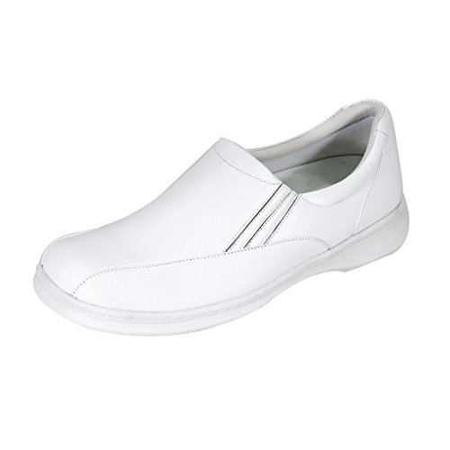 with Shoes Women line Comfort Blaire and Top Back Cushioned Slip Hour 24 Comfort Width Counter White On Wide wtzwBvq