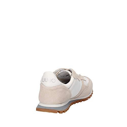Fluo Liu Mujer Alexa White Zapatillas Para Jo running Yellow qPqwrIC