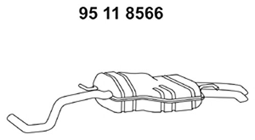 Ebersp/ächer 95 11 8566 Endschalld/ämpfer