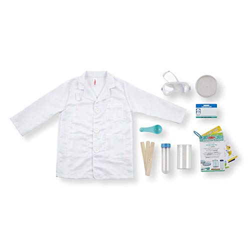 Melissa & Doug Scientist  Role Play Costume Set,  -