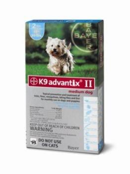 Advantix II 2-Month Dogs Teal, 11-20-Pound, My Pet Supplies