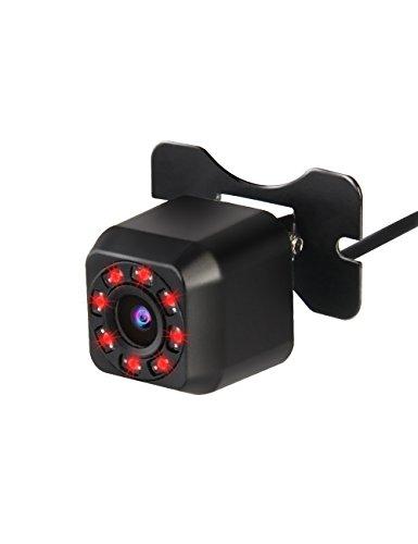 Backup Camera Rear View Camera, VEIPAO 8 Infrared Night Vision Car Rear Camera for Car HD Backup Camera Reverse Backup Camera with Waterproof CMOS HD 170 Degree Viewing Mini Universal (Night Vision Cameras Cars)