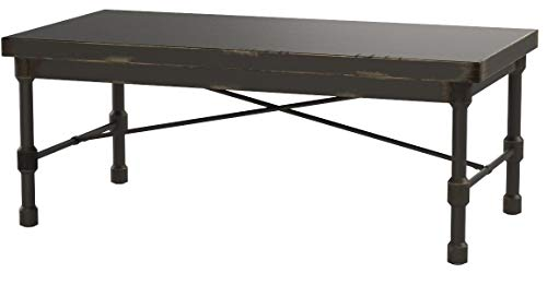 Silverwood FT1154-COM Oxford Industrial Collection Coffee Table, 48
