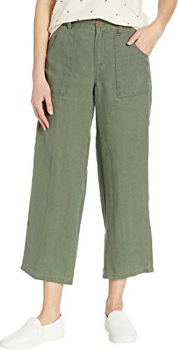 (Sanctuary Women's Traveler Wide Leg Crop Utility Peace Green 30 26)