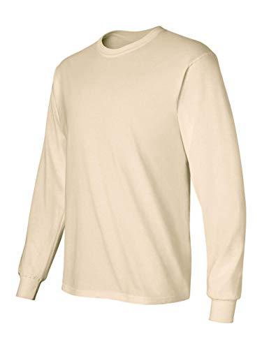 Gildan G240 Ultra Cotton® 6 oz. Long-Sleeve T-Shirt - NATURAL - ()