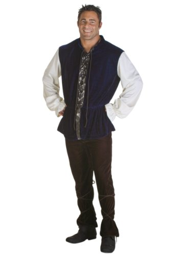 Tavern Man Costumes (Fun Costumes mens Plus Size Medieval Tavern Man Costume 2X)