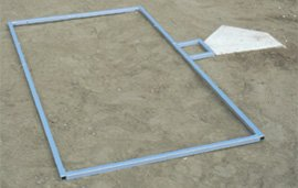 - Stackhouse Athletic Adjustable Batter's Box Template