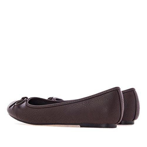 Bailarina Diferentes Pull Andres EN Machado 45 TG104 Mujer 42 Tallas Chocolate Grandes Texturas Clasica ww1EXq