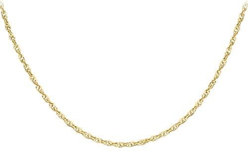 Carissima Gold - Chaîne maille Singapour - Or jaune 9 cts - 51 cm - 1.19.4305