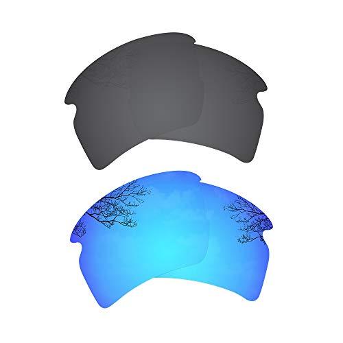 Solid Black soleil Homme Blue Lunettes Ice de Polarized Dynamix t7xIEXqwt