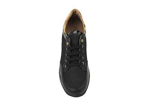Classe 0155 1a Scarpe Nero Sneakers ALVIERO MARTINI Donna Nero 0387 Comode tw6Exq7A