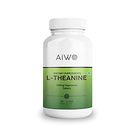 AIWO L-Theanine 250mg Vegetarian capsules - 60nos: Amazon.in: Health &  Personal Care