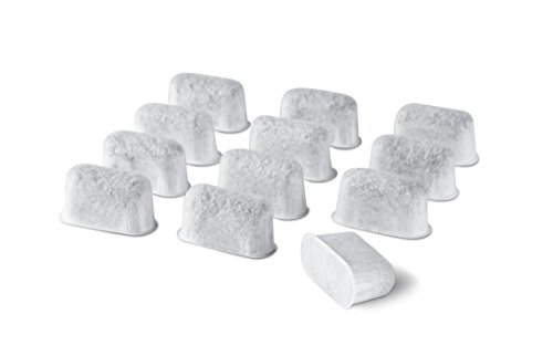 12-Pack Replacement Charcoal Water Filters for Use with Cuisinart coffee machines ()