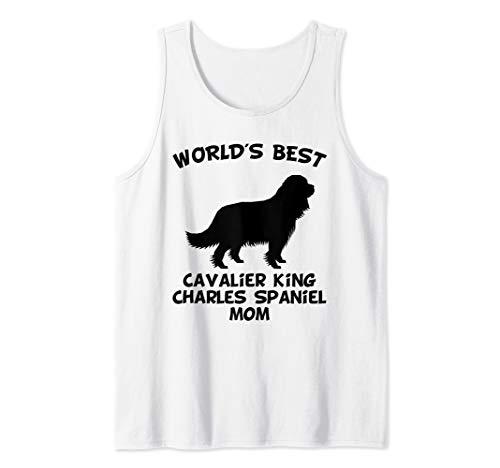World's Best Cavalier King Charles Spaniel Mom Dog Owner Tank Top