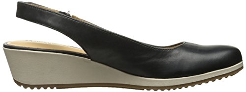 Espadrille Black Women's Bridget Wedge Sandal Naturalizer 6wqUzZxA