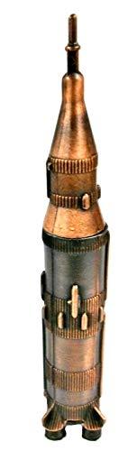 Saturn Rocket Die Cast Metal Collectible Pencil Sharpener