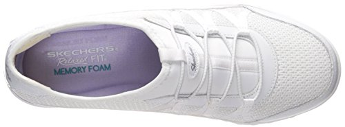 Skechers Sport Frauen Entspannung Mode Sneaker Weiß