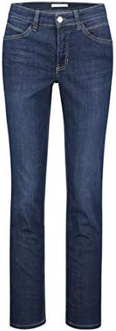 Mac Damen Jeans Melanie Feminine Fit darkblue (83) 38/32