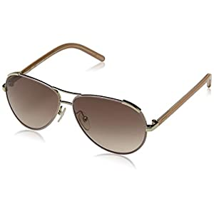 Chloè Kids' CE3101S 762 54 Sunglasses, Gold-Antique Rose