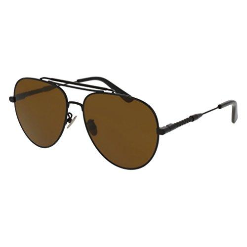 Sunglasses Bottega Veneta BV 0106 S- 001 001 BLACK / BROWN / - Sunglasses Veneta