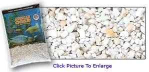 Pure Water Pebbles African Cichlid Substrate Rift Lake Gravel 20 LB- Dry- Natural Rift Lake Gravel by Pure Water Pebbles