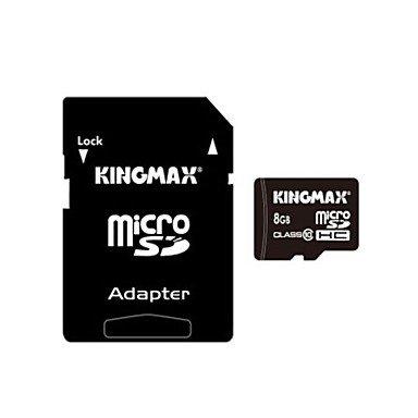 TY genuina kingmax tarjeta micro SD / SDHC con adaptador de ...