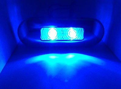 Blue Led Marine Courtesy Lights in Florida - 6