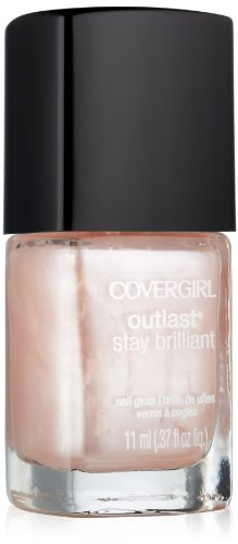 Covergirl Outlast Stay Brilliant Nail Gloss, Perma-pink 120, 0.37 Ounce