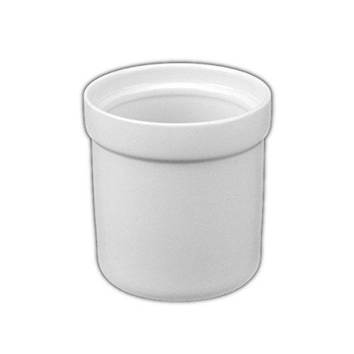 Holst Porzellan ACS 004 FA1 Tischabfall und Restebecher 13 cm, weiß, 12 x 12 x 12.5 cm