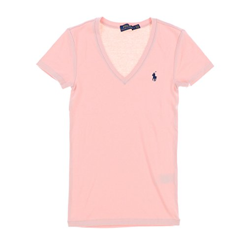 Polo Ralph Lauren Womens V-Neck Perfect Tee (Medium, - Women Polo Ralph