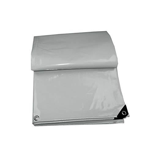 コンピューターゲームをプレイするピカリング殺人KKCF オーニング耐寒性日焼け止め不凍液防風涙に抵抗する屋外トラックポリ塩化ビニル 、600 / m2 、6サイズ (色 : Gray, サイズ さいず : 3.8x3.8m)
