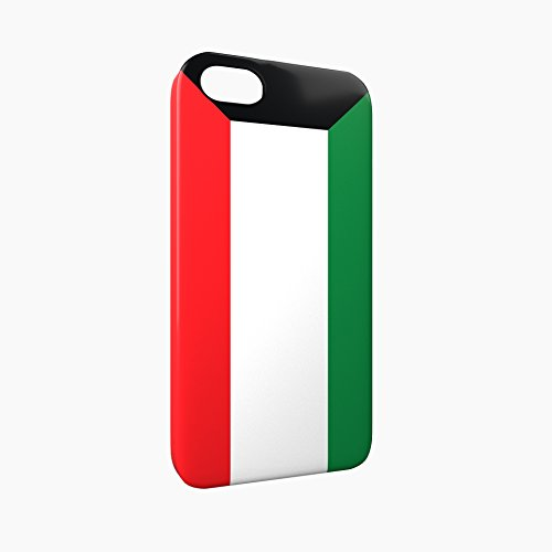 Flag of Kuwait Glossy Hard Snap-On Protective iPhone 5 / 5S / SE Case Cover