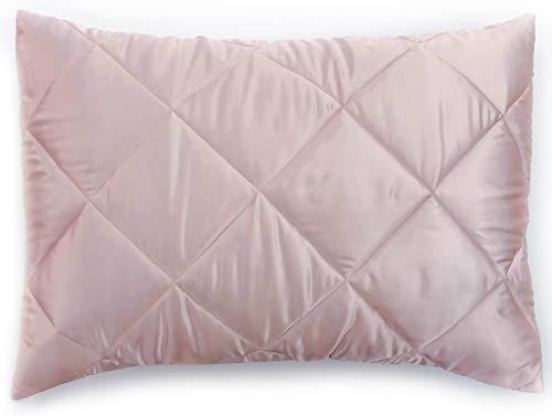 Jay Franco 2 Pack Satin Standard Sham Set, Blush (Shams Blush Pillow)