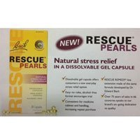 Bach Rescue Pearls Natural Stress Relief,28 Capsules (Pack of 2) by Bach