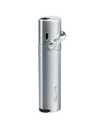 Vector KGM Mystique Singel Jet Torch Lighter (Chrome Satin)
