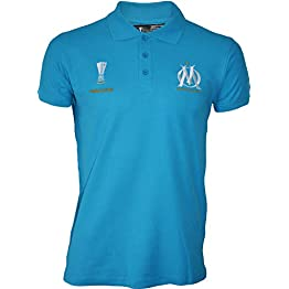 OLYMPIQUE DE MARSEILLE Polo Om - Finale UEFA Europa League 2018 - Collection Officielle Taille Adulte Homme