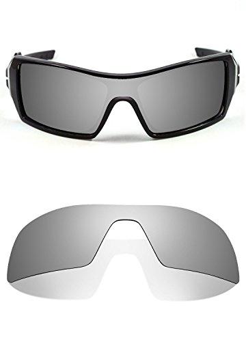 b37cd54055 C.Q. Replacement Titanium Polarized Lenses Compatible with Oakley Oil Rig  Sunglasses