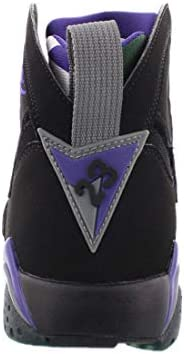 "Nike Air Jordan Retro 7"" Ray Allen Bucks Black/Field Purple-Fir"