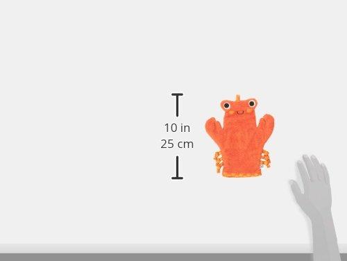 Zoocchini Waschhandschuh Handpuppe Motiv Charlie die Krabbe