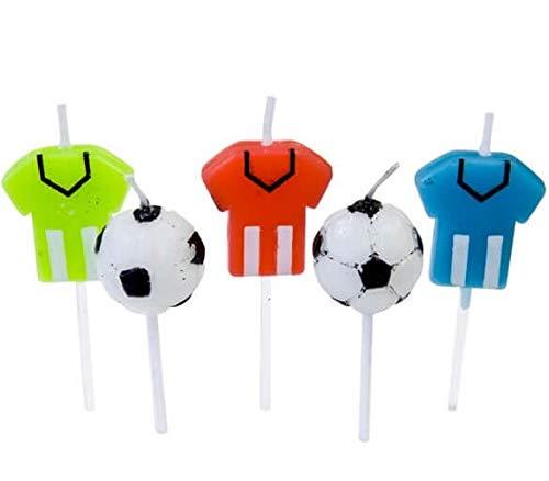 hobbi RF/bga1001- Vela Fútbol (X5) de balón de fútbol y Maillot ...