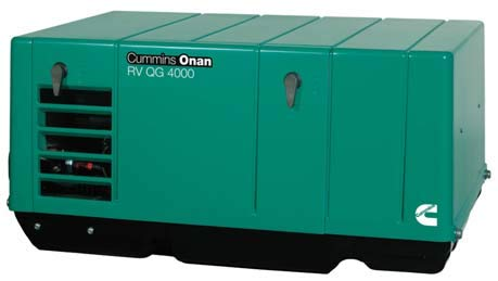 Cummins Onan QG 3.6 Propane RV Generator | 3.6KYFA-26120